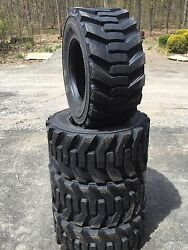 4-33X15.5-16.5 Carlisle Guard Dog Skid Steer Tires-33X15.50-16.5 - Bobcat,etc