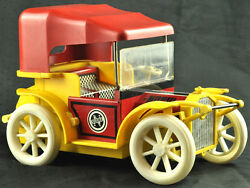 Vtg Tin Toy Red Russian Soviet Ussr Cccp Nobil Norma Truck Car Battery Operated