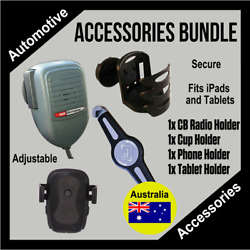 Toyota Fj Cruiser Accessories Bundle-phone, Ipad, Cb And Cup Holders Included