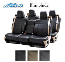 Coverking Custom Seat Covers Rhinohide Front and Rear Row - 3 Color Options