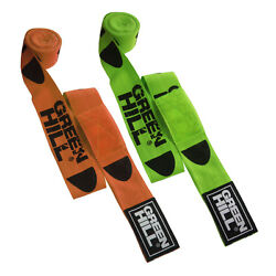 Greenhill Neon Bandages Polyester Gel Hand Wraps Fist Inner Gloves Protector
