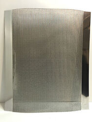 Willys Polished Custom Stainless Steel Grill / Grille Blank Insert
