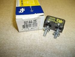New Cole Hersee 30144-25 Nos Circuit Breaker 25a Fuse Free Shipping