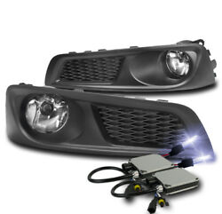 Front Bumper Chrome Driving Fog Lights Lamp+10k Xenon Hid For 2010-2012 Legacy
