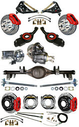 NEW SUSPENSION & WILWOOD BRAKE SET,CURRIE REAR END,CONTROL ARMS,POSI GEAR,656834