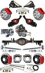 NEW SUSPENSION & WILWOOD BRAKE SET,CURRIE REAR END,CONTROL ARMS,POSI GEAR,697034