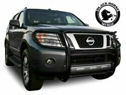Black Horse Fits 05-21 Nissan Frontier Grille Brush Guard Push Bar 17a110200ma