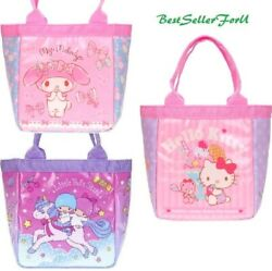 DC Comics  Sanrio Cooler Tote Bag Insulated Thermal Lunch Box Bento Food Case