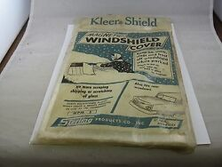 Vintage Kleer Shield Auto Car Windshield Cover Magnetic By Sterling Corp