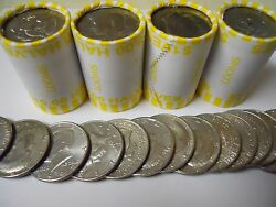 4 Unsearched Kennedy Half Dollar Rolls 40 Nice Collection Filler Coins. Fast