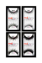 40 Pairs Pick any GENUINE Red Cherry DW 102 WSP 605 Eyelashes  Human Hair Lashes