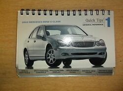 2003 Mercedes-benz C-class Reference Guide Mc-02-452 Free Shipping