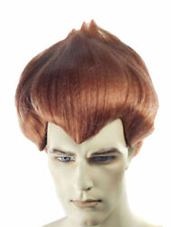 Morris Costumes Men's Wonderful Stands Straight Up Troll Big Brown Wig. LW138BN