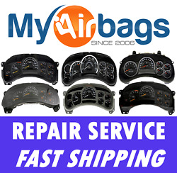 GM Chevy Impala Speedometer Instrument Cluster Gauge Light Repair Service