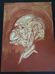 Dr. Lakra - Sin Titulo 5 - Rare Hand Signed And Numbered Original Lithograph 2009
