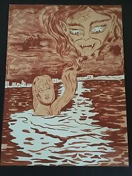 Dr. Lakra - Sin Titulo 7 - Rare Hand Signed And Numbered Original Lithograph 2009