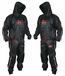 Heavy Duty 2fit Sweat Suit Sauna Exercise Gym Suit Fitness Weight Loss Anti Rip