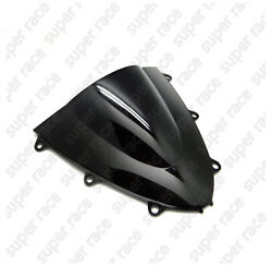 Black Motorcycle Windshield Windscreen For Honda CBR1000RR 2008-2009 2010 2011