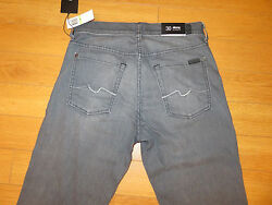 Nwt Menand039s 7 For All Mankind Slimmy Slim Straight Leg Jeans Retail 198