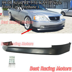 Jp Style Front Bumper Lip Urethane Fits 99-04 Acura Rl