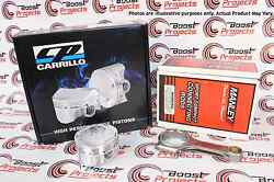 Cp Pistons Manley Rods For Acura B18 Bore 83mm +2.0mm 9.01 Cr Sc7012 / 14026-4