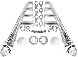 New Lake Style Stainless Steel Headers With Ceramic Turnouts,bbc 366-502 V-8