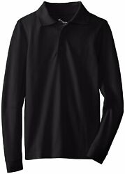 Classroom Uniforms Youth New Long Sleeve Reinforced Shoulder Polo Shirt. 58352 $14.90