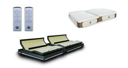 Dynasty Mattress Dm9000s And Reverie 8q Adjustable Bases With 14 Gel Mattresses