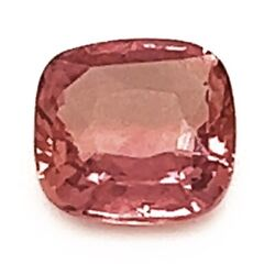 Natural Unheated Padparadscha Sapphire Orange Pink Color Oval Shape 1.13 Cts