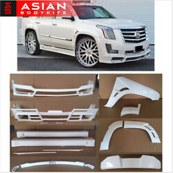 Wide BODY KIT for Cadillac Escalade 2015+ (N-style)