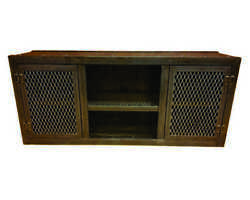 Modern Industrial Media Console Entertainment Center Living Room Furniture- 001