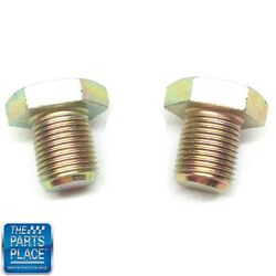 1967-72 Front Disc Caliper Bracket Spindle Mounting Bolts - Pair