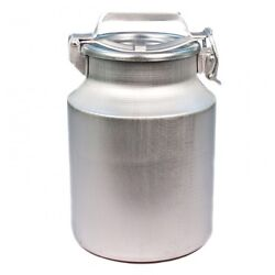 Aluminium Flask Container For Milk, Water, Etc. Holds 10 L Milk Cans Bottles New