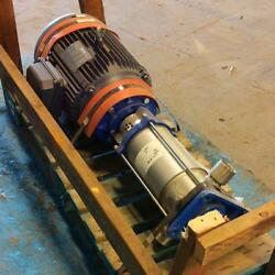 Myers 6-stage Pump Mv16-60s W/ Leeson 15hp Motor G150062.00 Pzb