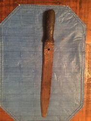 Antique Hand Forged Knife