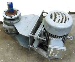 Toshiba Explosion Proof Motor W/ Gear Reducer Cd-220 10100934 215t 10hp