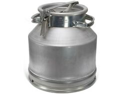 Aluminium Flask Container For Milk, Water, Etc. Holds 25 L Milk Cans Bottles New