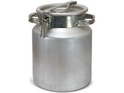 Aluminium Flask Container For Milk, Water, Etc. Holds 20 L Milk Cans Bottles New