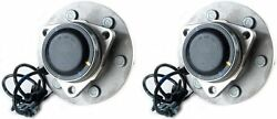 Hub Bearing For 2007 Gmc Savana 1500 Rwd/fwd Only-6 Stud Front Pair