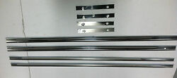 Ford Model A Running Board Stainless Steel Trim Set 8 Piece 1928-1929