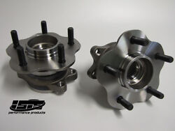 Isr Isis 5 Lug Rear Conversion Hubs For Nissan 240sx 89-94 S13 Sold As A Pair