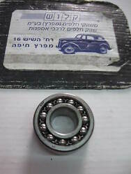 Skf 2203 Double Row Self-aligning Bearing Size 17mm X 40mm X 16mm Sweden Made