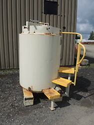 270 Gallon Stainless Steel Tank, Tote, With Heating/cooling Coil