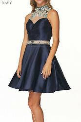SHORT DESIGNER PROM DRESSES SEMI FORMAL SWEET 16 COCKTAIL PARTY HOMECOMING QUEEN $129.99