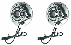Hub Bearing Assembly For 2002 Ford Explorer Fits 4 Door Only-front Pair