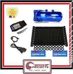 ARP Head Stud & Sinister Intake Elbow & SCT X4 Power Flash Programmer Ford 6.0L