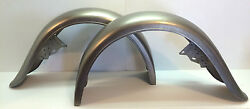 Trailer Steel Fender Pair Left + Right Vintage 1920and039s-1930and039s Look