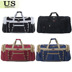 26quot; Waterproof Overnight Tote Travel Gym Sport Bag Duffle Carry On Luggage $18.95