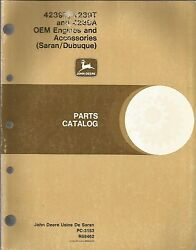 John Deere 4239d, 4239t, And 4239a Oem Engines And Accessories Parts Catalog