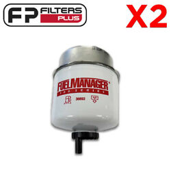2 X 36693 Twin Pack Genuine Fuel Manager Filter- 2 Micron - Remove 99 Of Water